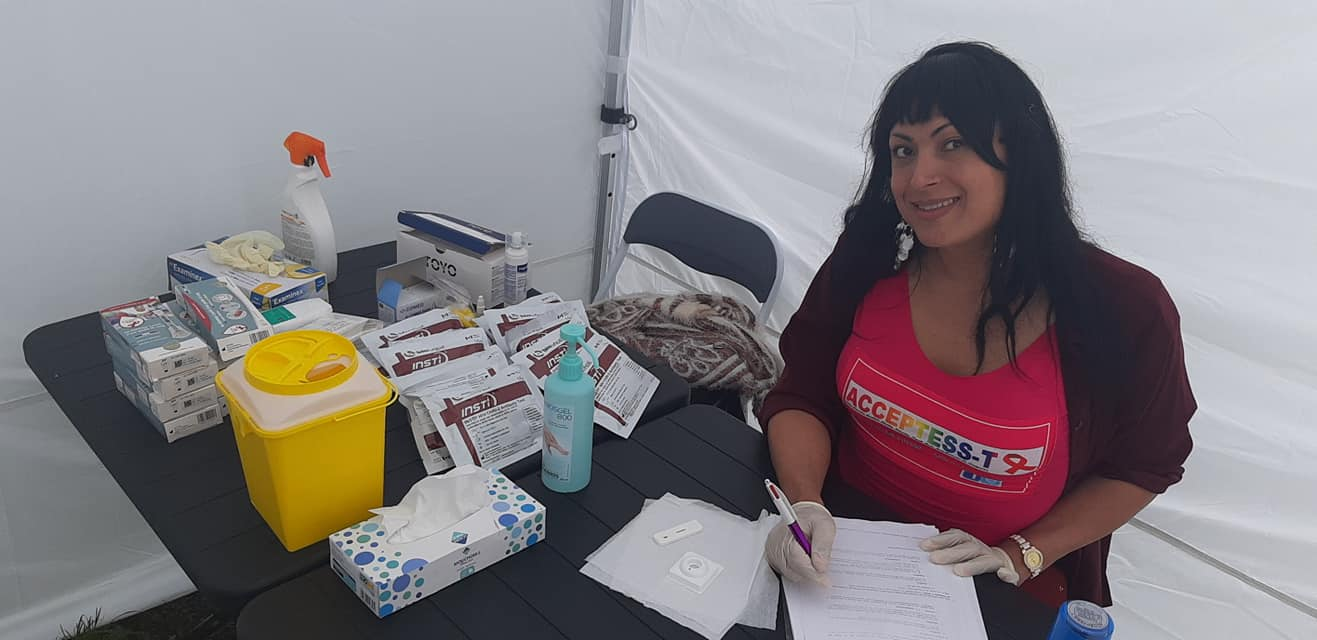 Giovanna Magrini mediadora em saúde