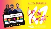 """Festas do interior se unem para """"Live do K7"""" com hits dos 90 e 2000"""