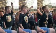 Garoto de cinco anos viraliza ao fazer performance no show do Little Mix