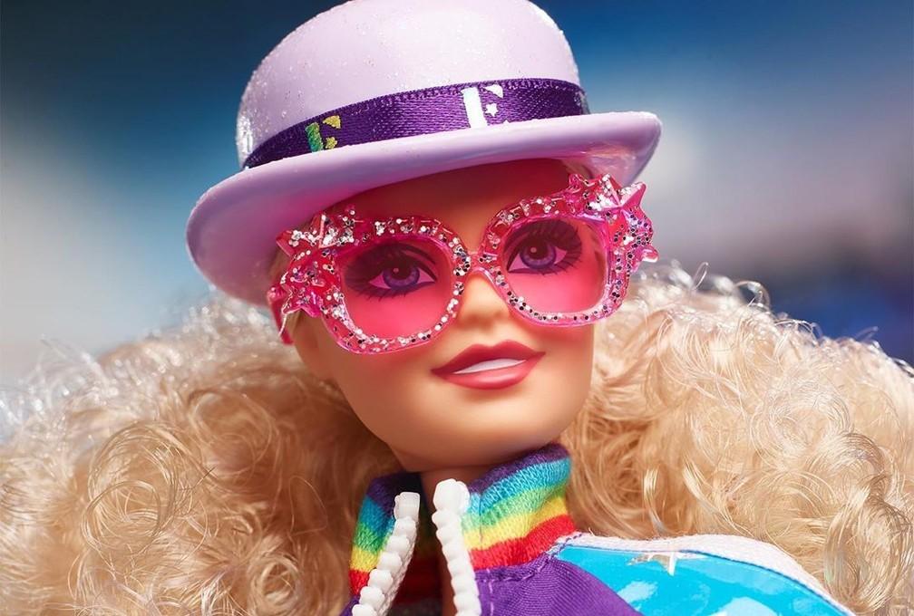 Barbie tiene un look de edición limitada de Elton John