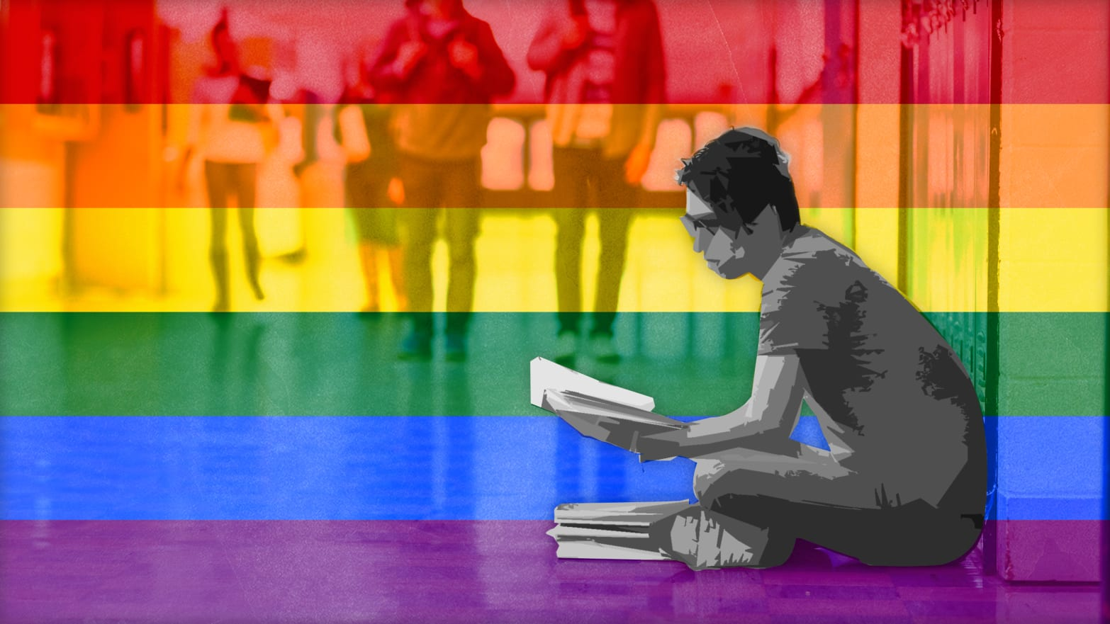 La investigación muestra que LGBTQIA+ de 13 a 21 años sufren homofobia o transfobia en la escuela
