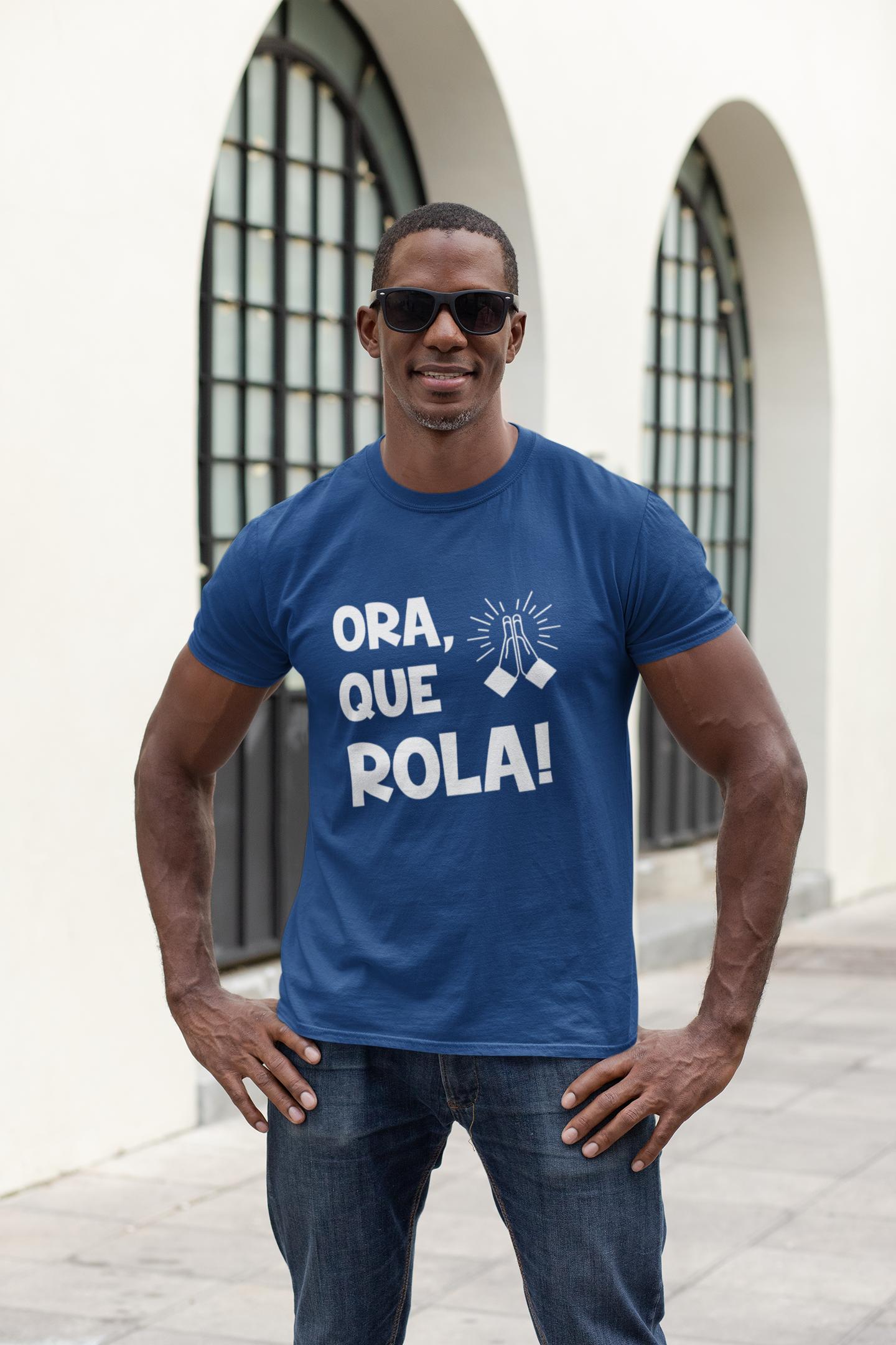 """Camiseta """"Ora, que rola"""" - Loja das Pocs"""