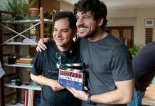 Carlos Saldanha com Pigossi Divulgação/Alisson Louback