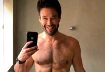 "Sérgio Marone biscoita exibindo volume sob toalha: ""Saúde deve vir sempre na frente"""