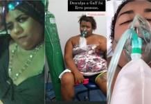 Após aglomeração em festas, webcelebridade Ygona pede por orações no hospital
