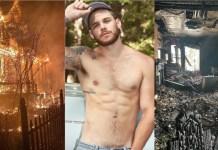 Ator Matthew Camp tem casa incendiada enquanto dormia; suspeita-se de crime de ódio