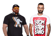 DJs Alex Ramos e Tom Stephan animam festa global virtual do SCRUFF; evento acontece neste dia 1º