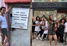 Bruno Sodré: Da lavanderia de casa para um salão de beleza de alto padrão no Morumbi