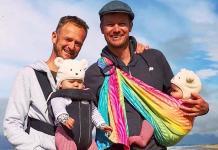 Casal gay consegue adotar os próprios filhos biológicos após três anos