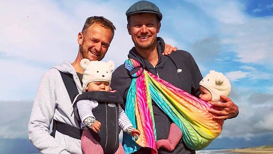 Gay couple can adopt their own biological children after three years
