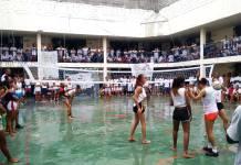 Torneio de vôlei, com partidas aos sábados: os times têm nomes como As Poderosas e As Panikets Acervo SAP/Veja SP Leia mais em: https://vejasp.abril.com.br/cidades/presas-transexuais-respeito-cadeia-sao-paulo/