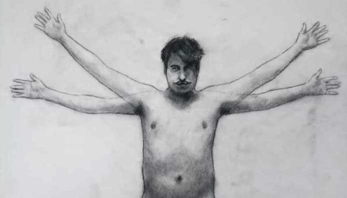 Homens em Carvão: Projeto artístico discute masculinidade, diversidade e poesia