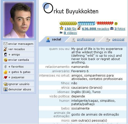 Orkut en Orkut: reproducción