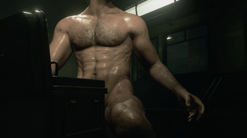 Resident Evil mods put Leon, Carlos and Nemesis in the front naked; enjoy