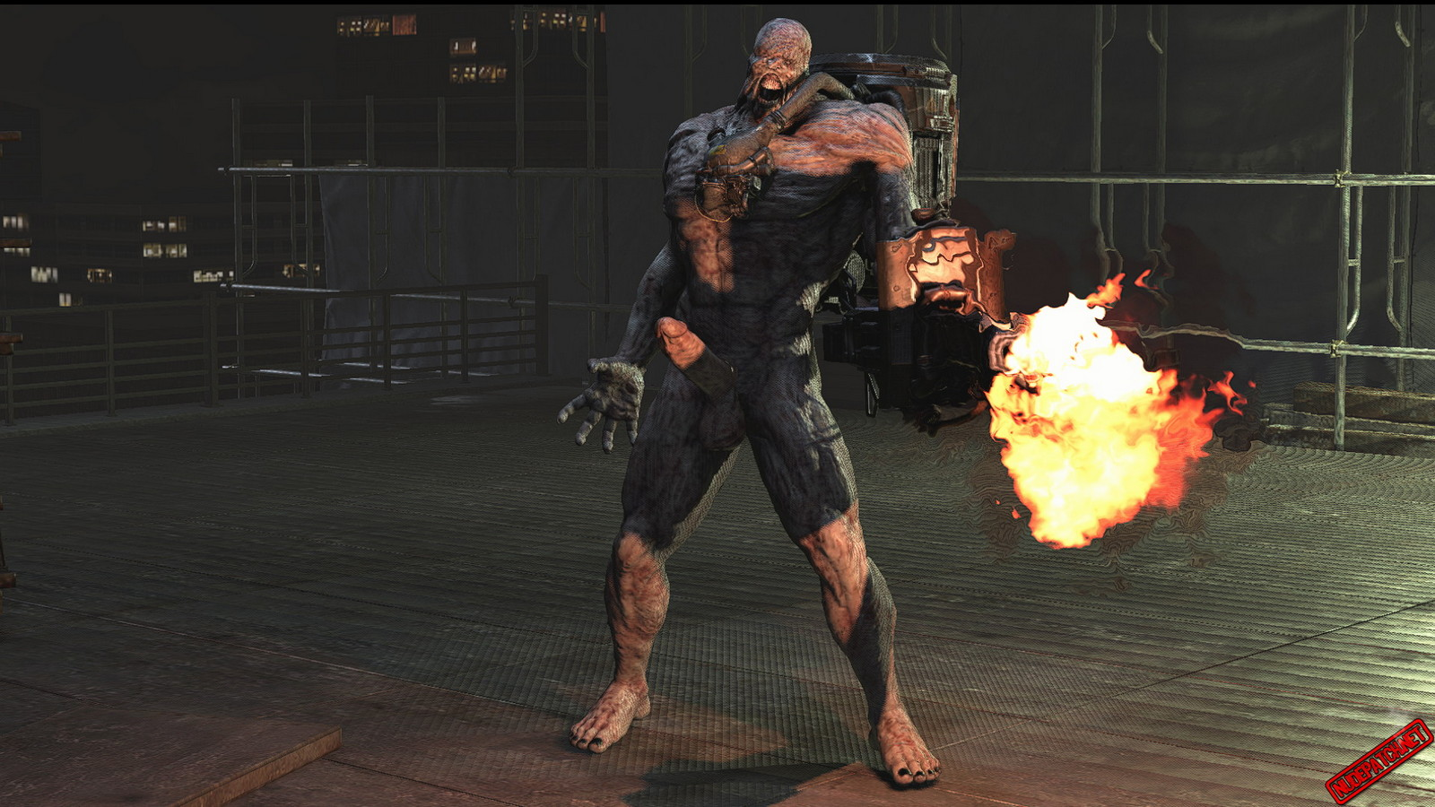 Resident Evil mods put Leon, Carlos and Nemesis in front nude