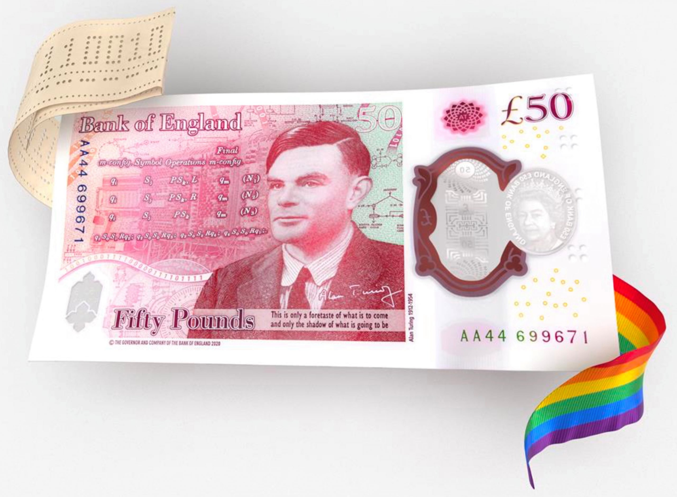 Alan Turing, gay and father of computing, is the new face of 50 pound notes