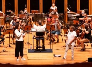 Zélia Duncan e Mart'nalia cantam com a Brasil Jazz Sinfônica